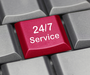 Computer key - 24/7 service